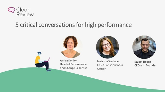 5 critical conversations for high performance