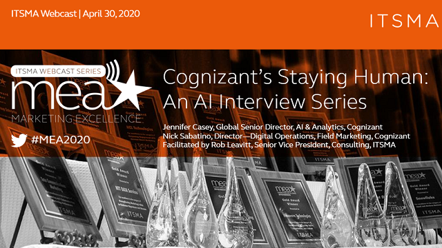 Cognizant's Staying Human: An AI Interview Series