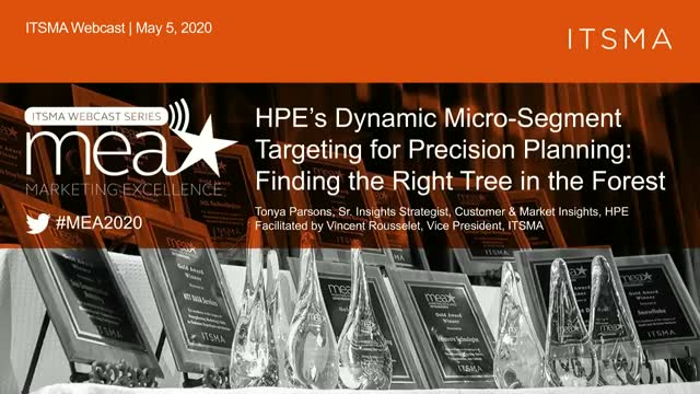 HPE's Dynamic Micro-Segment Targeting for Precision Planning