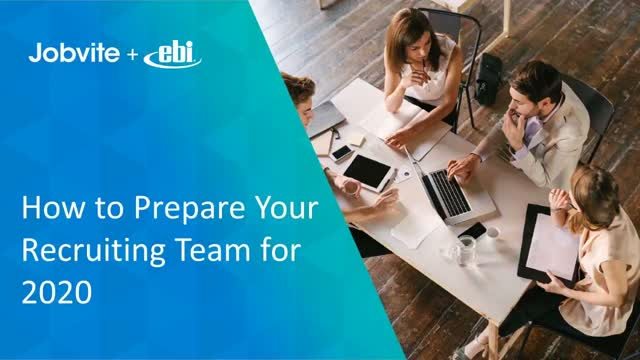 How to Prepare Your Recruiting Team for 2020