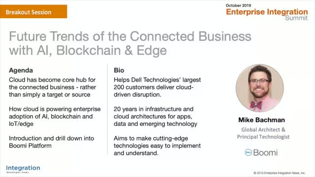 Future Trends of the Connected Business with AI, Blockchain & Edge