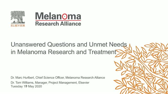 Addressing Questions & Unmet Needs in Melanoma Research and Treatment