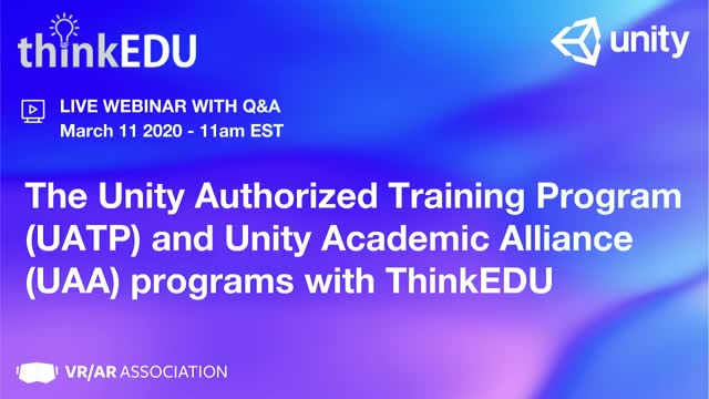 Unity Authorized Training Program (UATP), Unity Academic Alliance (UAA) ThinkEDU
