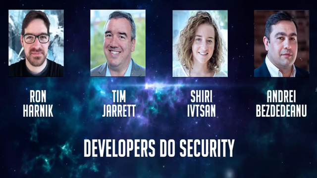 Panel: Developers Do Security