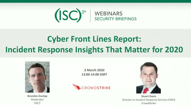 Cyber Front Lines Report: Incident Response Insights That Matter for 2020