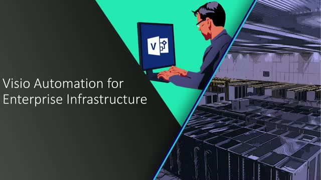 Visio Automation For Enterprise Infrastructure