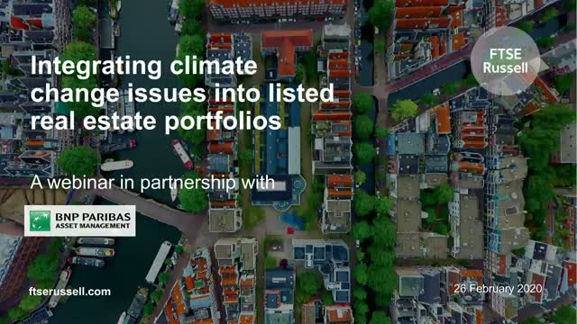 Integrating climate change issues into listed real estate portfolios