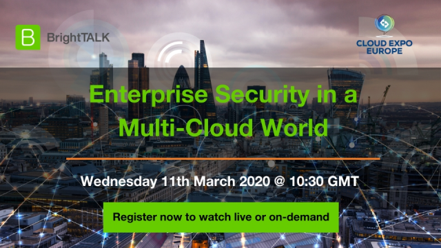 Live Video Panel: Enterprise Security in a Multi-Cloud World
