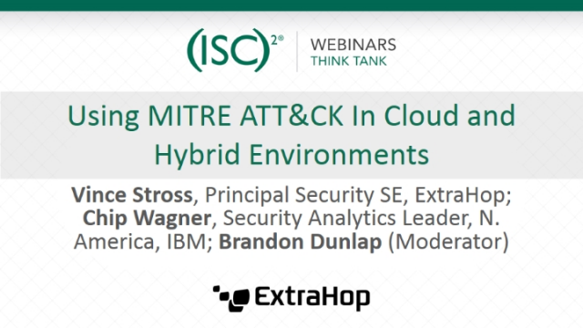 Using MITRE ATT&CK In Cloud and Hybrid Environments