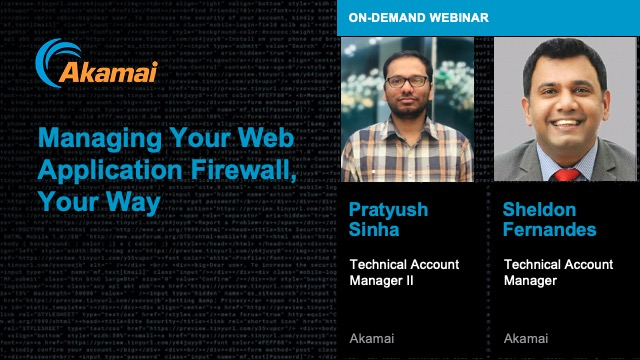 Managing Your Web Application Firewall, Your Way