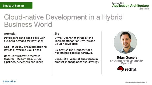 Cloud-Native Development in a Hybrid Business World