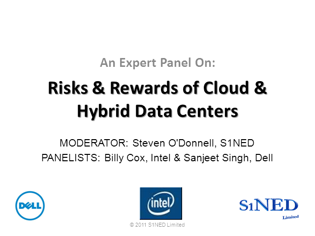 Risks & Rewards of Cloud & Hybrid Data Centers