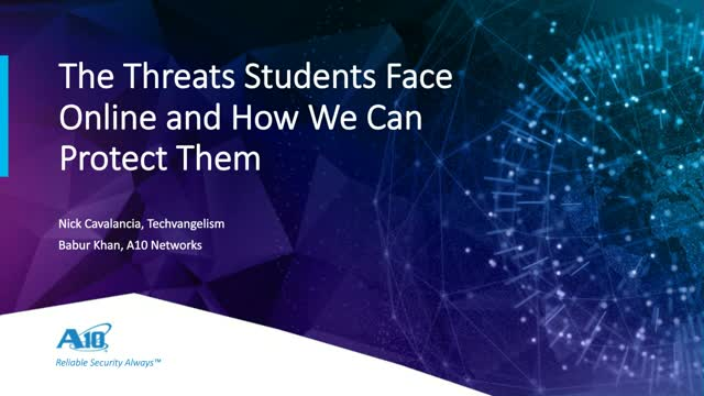 The Threats Students Face Online and How We Can Protect Them?