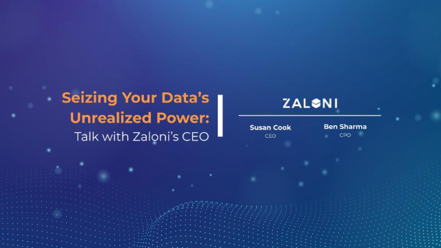 Seizing Your Data's Unrealized Power: Talk with Zaloni's CEO