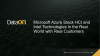 Azure Stack HCI and Intel Technologies in the Real World with Real Customers