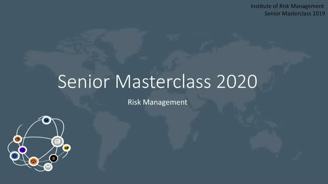 Senior Masterclass: Risk Management