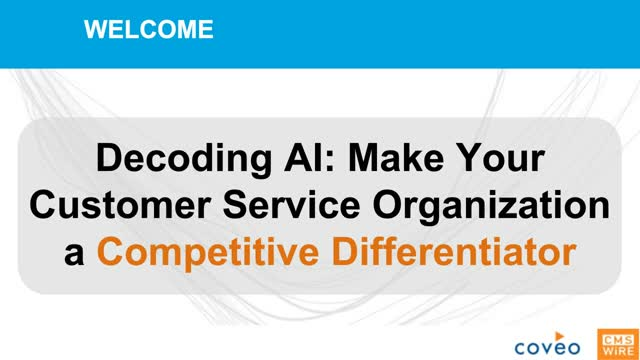 Make your Customer Service Organization a Competitive Differentiator