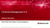 What's New in CA Service Management 17.3