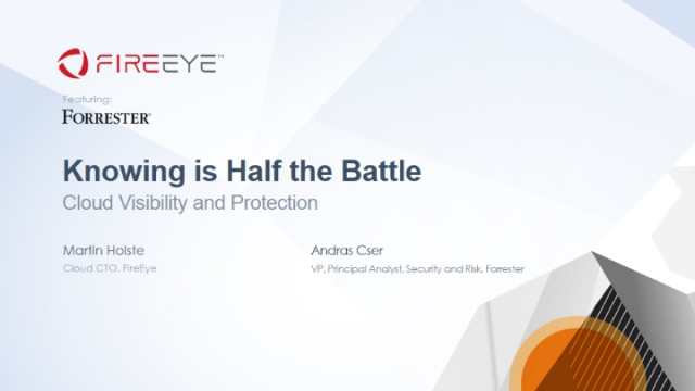 Knowing is Half the Battle: Cloud Visibility and Protection