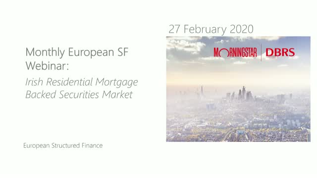 Irish residential mortgage-backed securities market - DBRS Morningstar Webinars