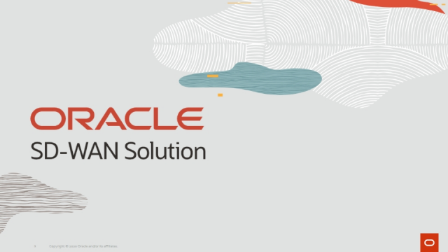 Oracle Communications: Optimizing and Securing Networks during Uncertain Times