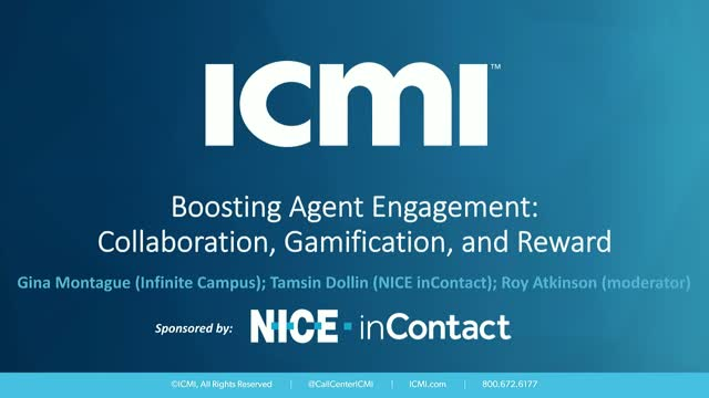 Boosting Remote Agent Engagement: Collaboration, Gamification, and Reward