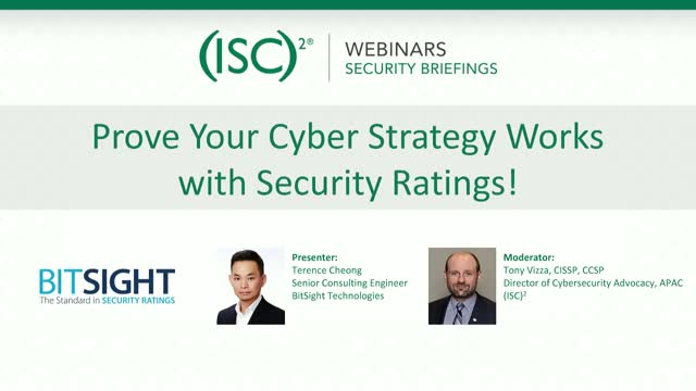 Prove Your Cyber Strategy Works with Security Ratings!