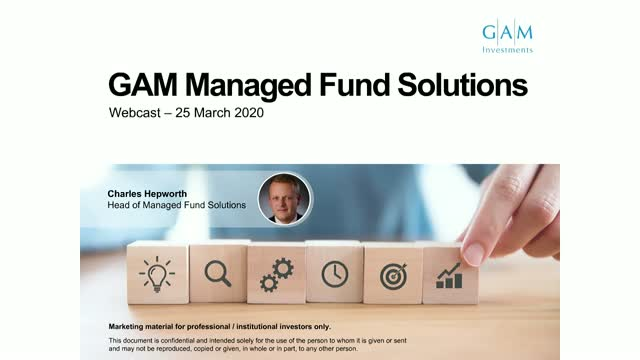 Capturing performance in uncertain times - GAM Managed Fund Solutions quarterly