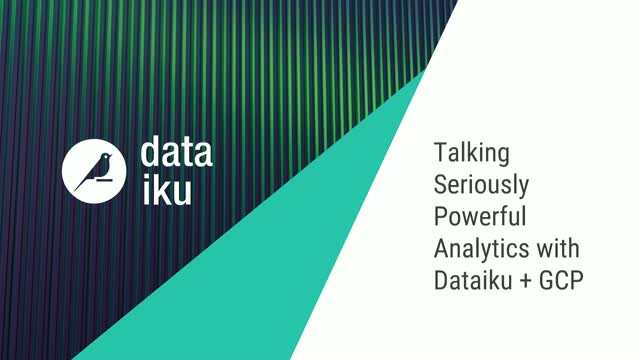 Talking Seriously Powerful Data Analytics