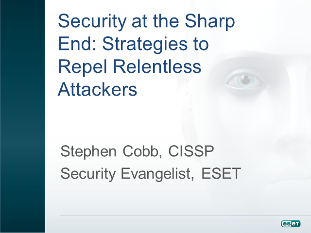 Security at the Sharp End: Strategies to Repel Relentless Attackers