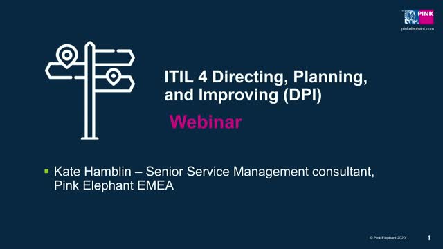 ITIL 4 Strategist Part Two: Direct, Plan & Improve