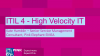 ITIL 4 Specialist Part Three: High-Velocity IT