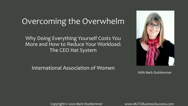 Overcoming the Overwhelm - Why Doing Everything Yourself Costs You More