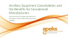 Ancillary Equipment Consolidation and the Benefits for Cannabinoid Manufacturers