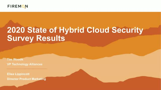 2020 State of Hybrid Cloud Security