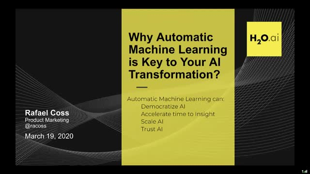 Why Auto ML is Key to Your AI Transformation