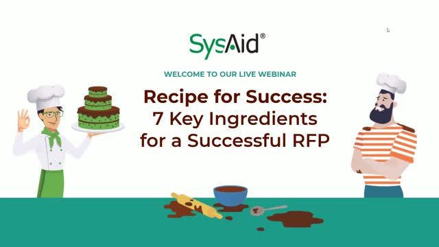 Recipe for Success - 7 Key Ingredients for a Successful RFP