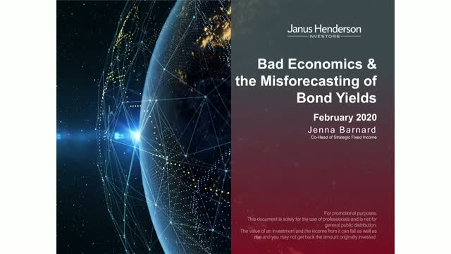Bad Economics & the Misforecasting of Bond Yields