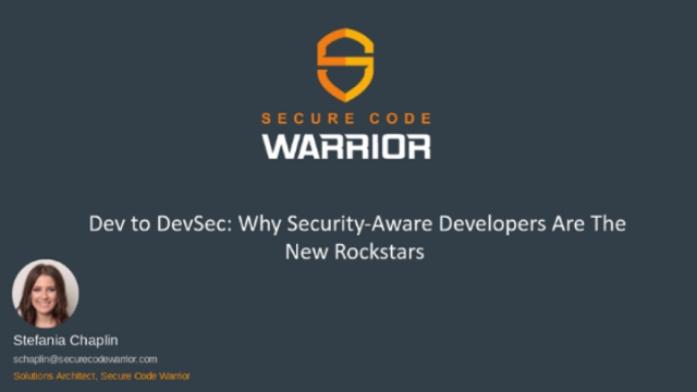 Dev to DevSec: Why Security-Aware Developers Are The New Rockstars