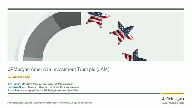 J.P. Morgan American Investment Trust plc Webconference
