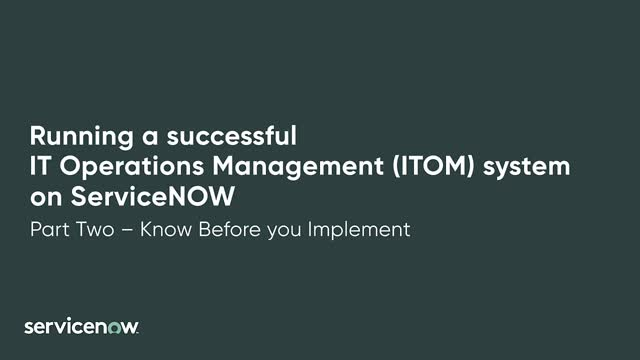 What To Know Before You Implement IT Operations Management