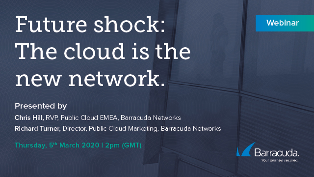 Future shock: the cloud is the new network