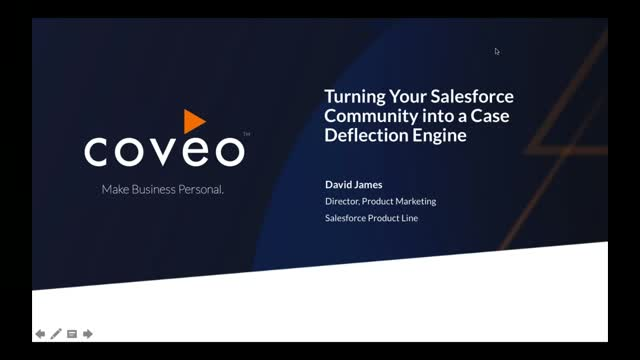 Turning your Salesforce Community into a Case Deflection Engine