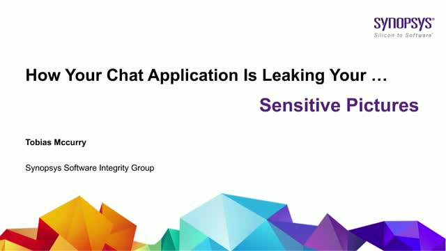 How your Chat application is leaking your .... sensitive pictures