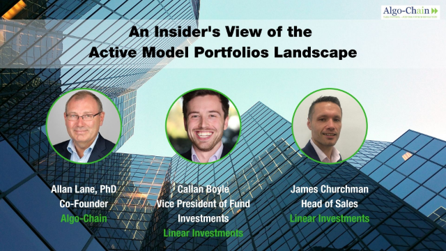 An Insider's View of the Active Model Portfolios Landscape