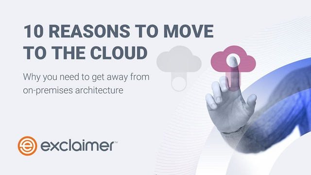 10 Reasons to Move to the Cloud