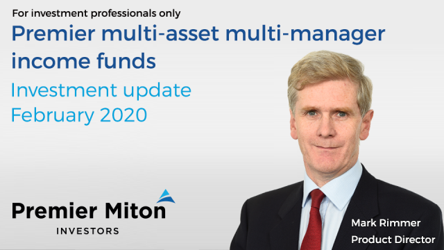 Multi asset multi manager income funds: Q4 2019 update