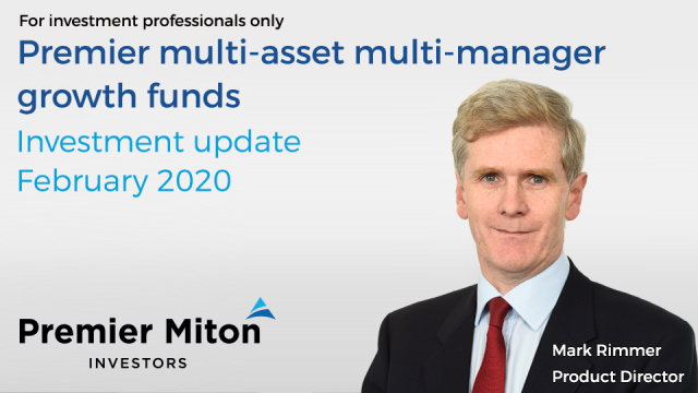 Multi asset multi manager growth funds: Q4 2019 update