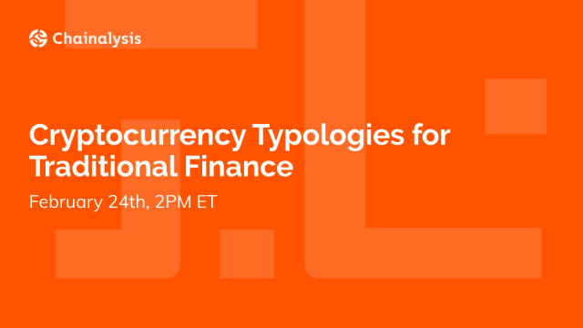 Cryptocurrency Typologies for Traditional Finance