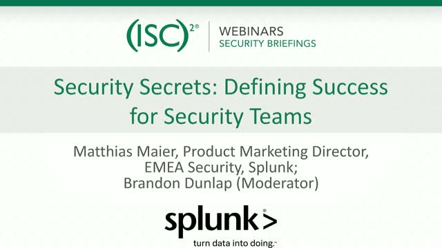 Security Secrets: Defining Success for Security Teams